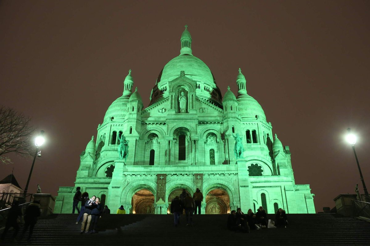 El mundo se ti e de verde para celebrar san patricio fotos - Immagini st patrick a colori ...