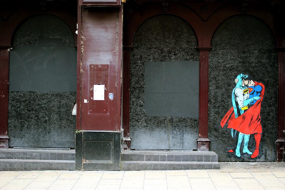 Arte de rua Croydon, em Londres. Foto: Rich Simmons.