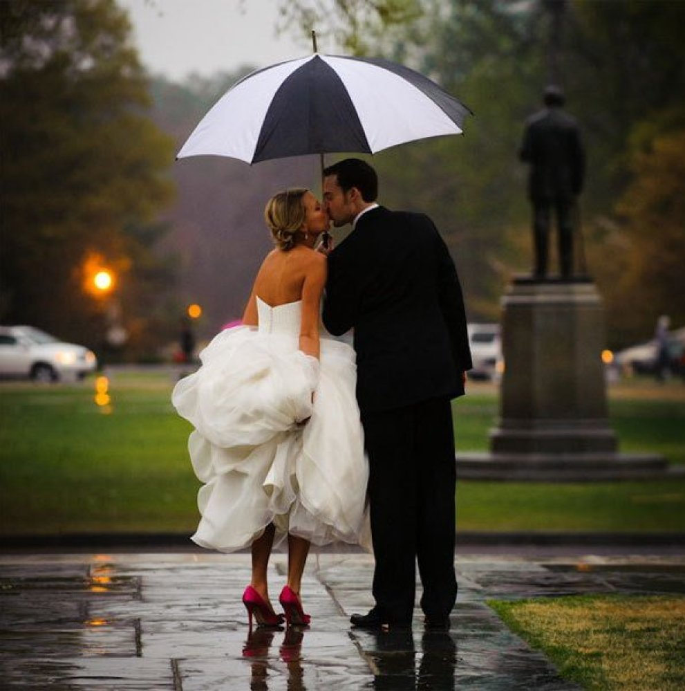 Best Time Of Day For Wedding: 25 Ways To Make The Best Out Of Rain On Your Wedding Day