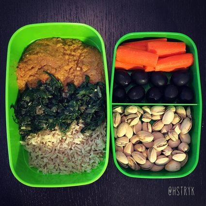No Fast Food Just An Healthy Vegan Lunch Every Day