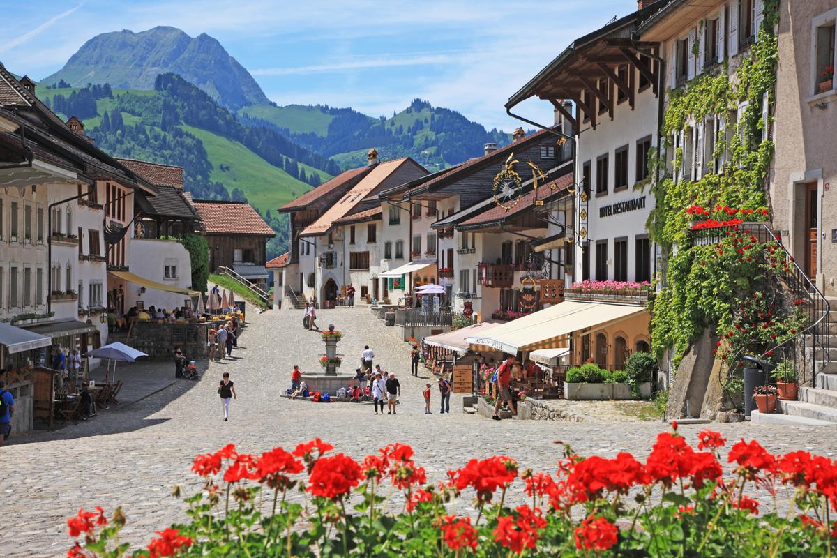 Gruyares, Ελβετία
