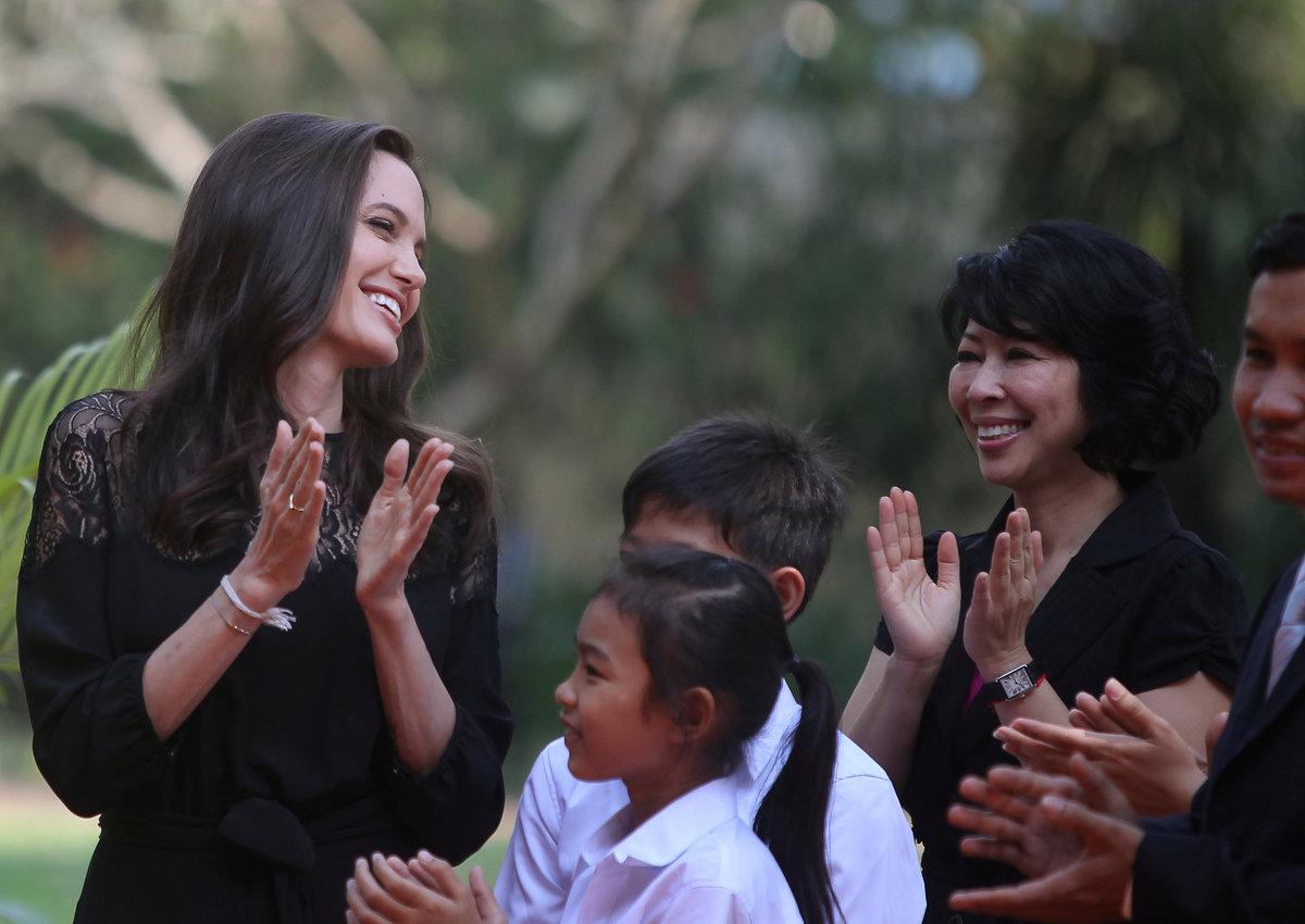 Angelina Jolie: Brad Pitt è un gran papà!
