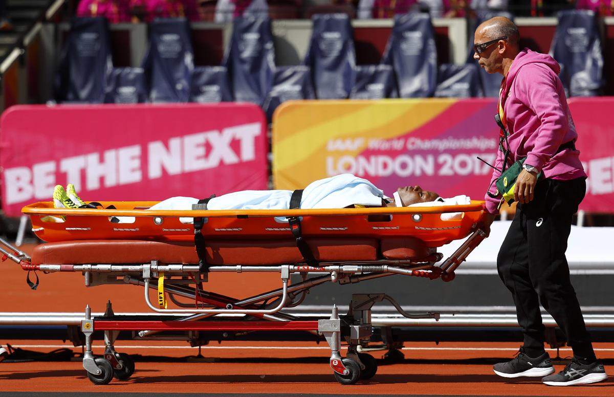 Τρομακτικός τραυματισμός δρομέα στα 100 μέτρα μετ' εμποδίων: Το πόδι της γύρισε και έπεσε στο πρόσωπό της slide 523176 7382260 free