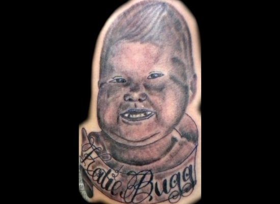 Tattoos: Baby Portrait FAIL!