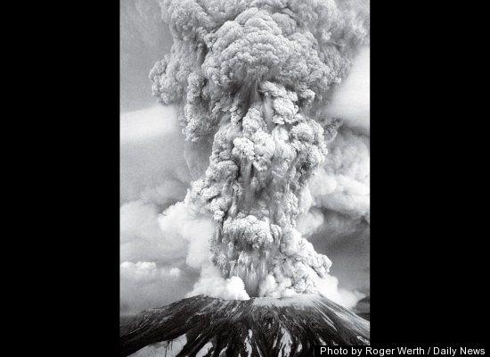 Mt St Helens Eruption 1980