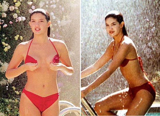Phoebe kates bikini