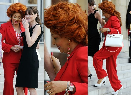 Cameroon First Lady Hair Style