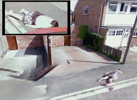 Google Street View Dead Girl