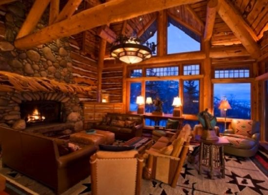 Ski house of the day january 2012 for Ski cottage