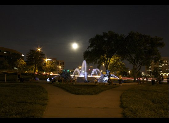 Supermoon - Kansas City