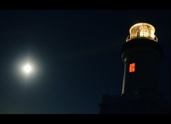 Super Moon Byron Bay