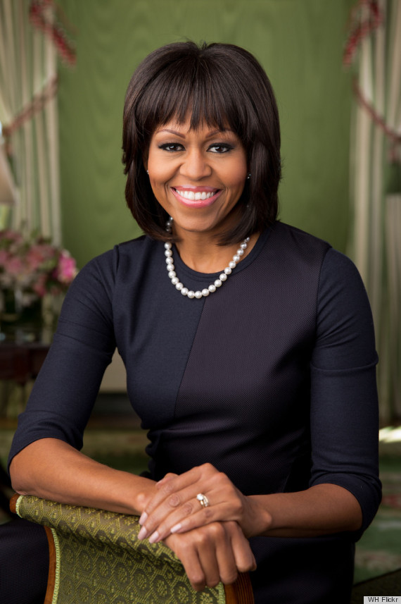 Super Good Hair Amp Beauty Diaries Michelle Obama39S New Hairstyle Debuts Short Hairstyles Gunalazisus