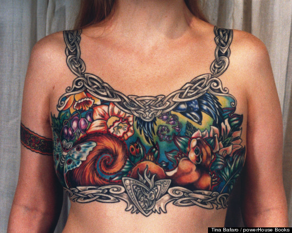 Removes Photo Of Breast Cancer Survivors Tattoo Users Fight Back Breast Cancer Cover Up Tattoos