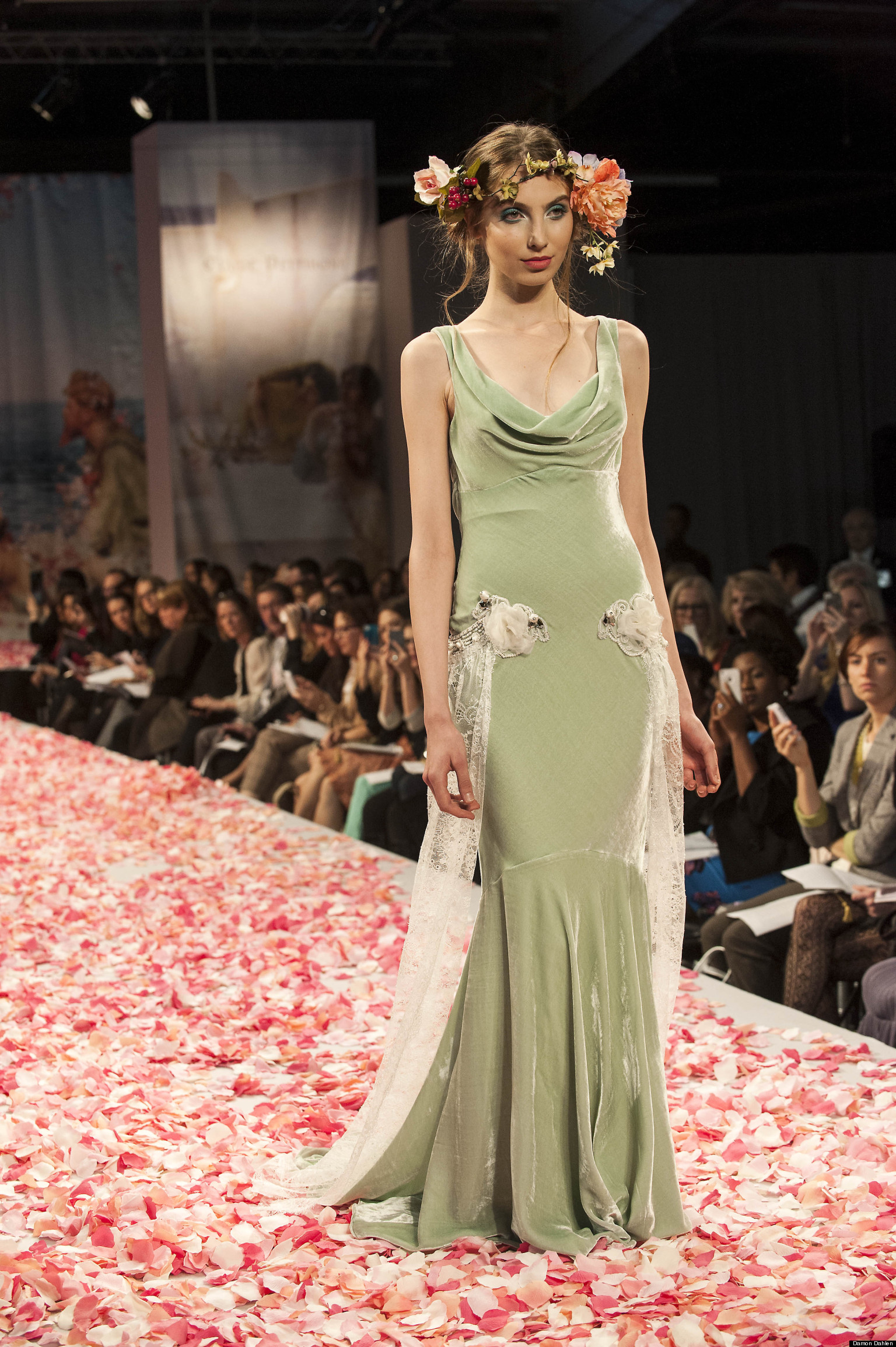 Colored Wedding Dresses In Fall 2013 Collections PHOTOS