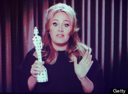 BRITS 2013: Adele Makes Sure She's Not Cut Off This Year!