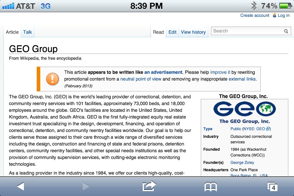 geo group wikipedia