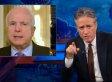 Jon Stewart Hammers John McCain On Hagel, Benghazi Outrage; Calls Out Iraq Hypocrisy (VIDEO)