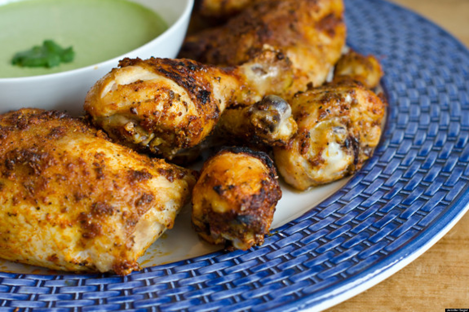 Best Ever Peruvian-Style Roast Chicken With Green Sauce ...