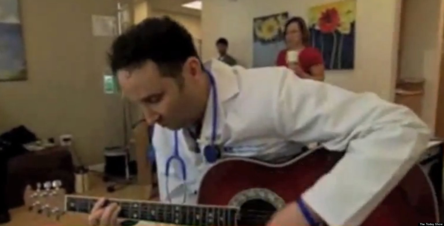 WATCH: This Singing Doctor Will Melt Your Heart