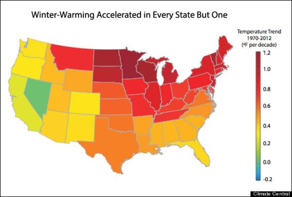 us temperature trends