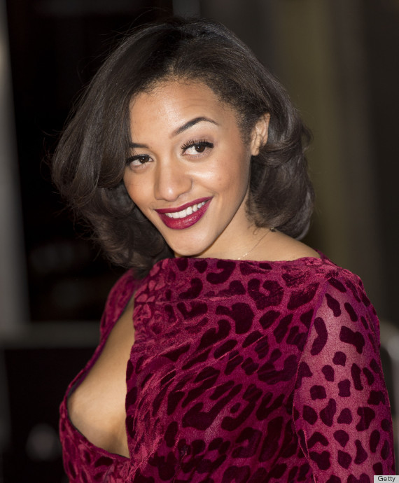 Amal Fashanu Has Nip Slip On Arbitrage Red Carpet Nsfw S