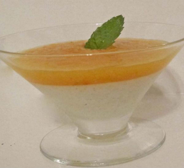 pannacotta single dish