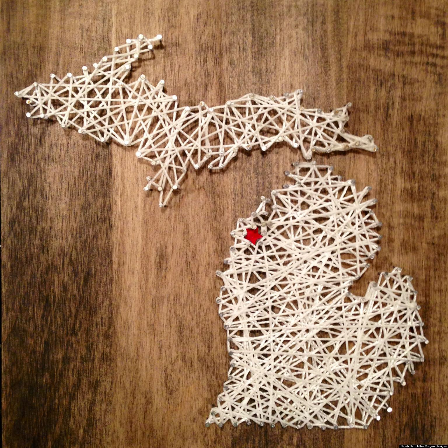 yarn string art - photo #11