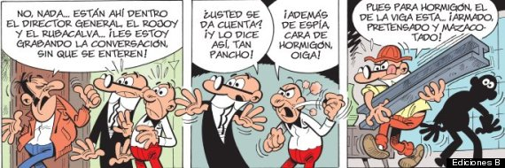 políticos mortadelo y filemón