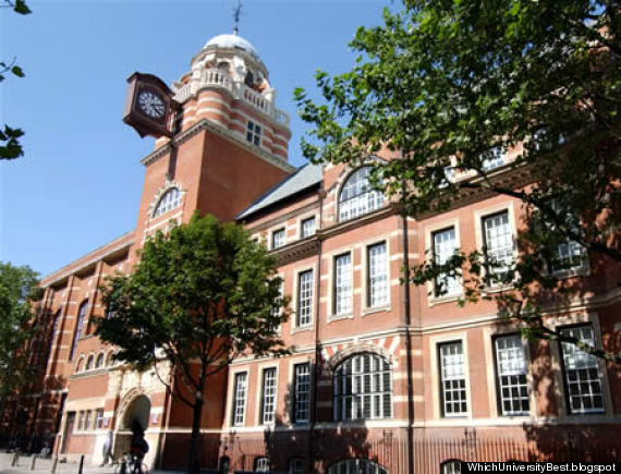 city university college building