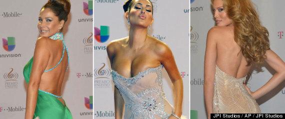 los mejores y peores vestidos de premio lo nuestro 2013