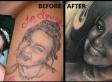 'World's Worst Portrait Tattoo' Fixed By Artist Scott Versago At Empire Ink Studio (PHOTO)