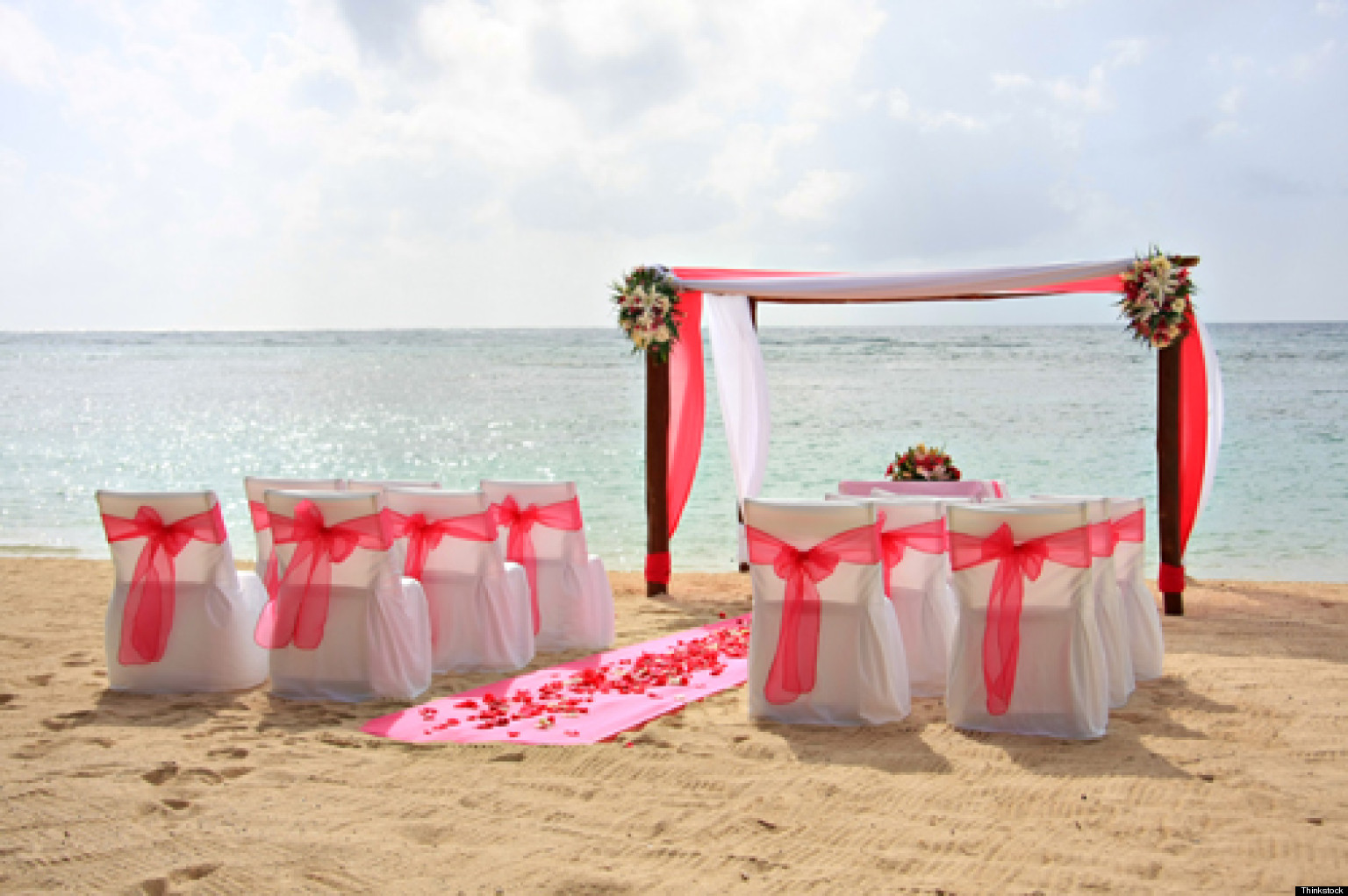 tips for planning a beach wedding huffpost