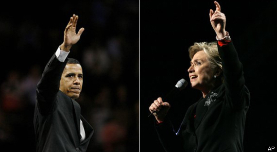 Obama Hillary Showdown