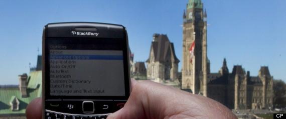 BLACKBERRY SMARTPHONE MARKET SHARE CANADA
