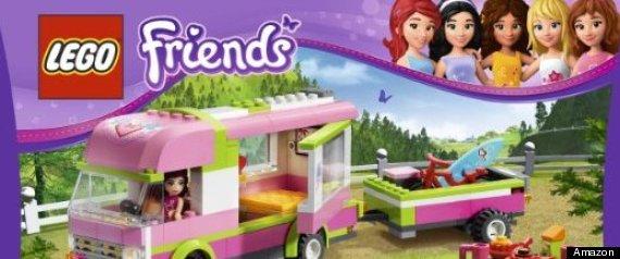 Lego Sales Soar On Demand For New Girls' Series, Lego Friends