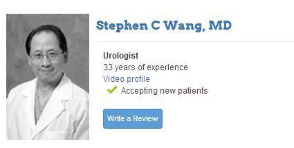 doctor stephen c wang