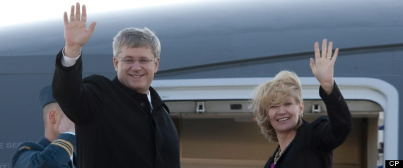 Stephen Harper New Plane