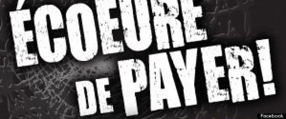 ECOEURE DE PAYER