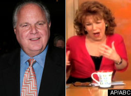 Rush Limbaugh Joy Behar
