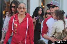 Tracksuit Chic: J-Lo Is All About The Love In LA