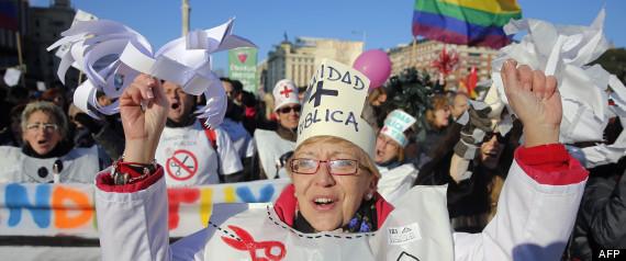 espagne manifestation austerite