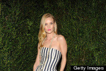 Eek Or Chic? Rosie Huntington-Whiteley Wears 'Pyjama Jumpsuit' To Chanel Pre-Oscar Dinner