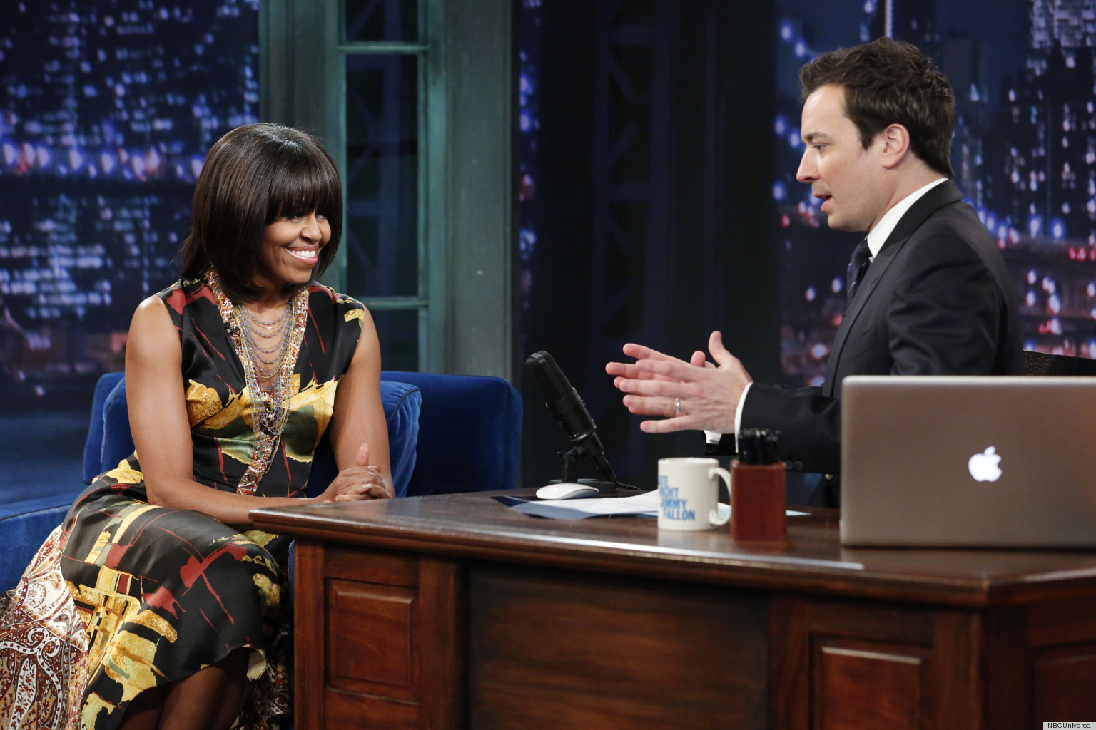 WATCH: Michelle Obama Talks Dates With The President On Jimmy Fallon