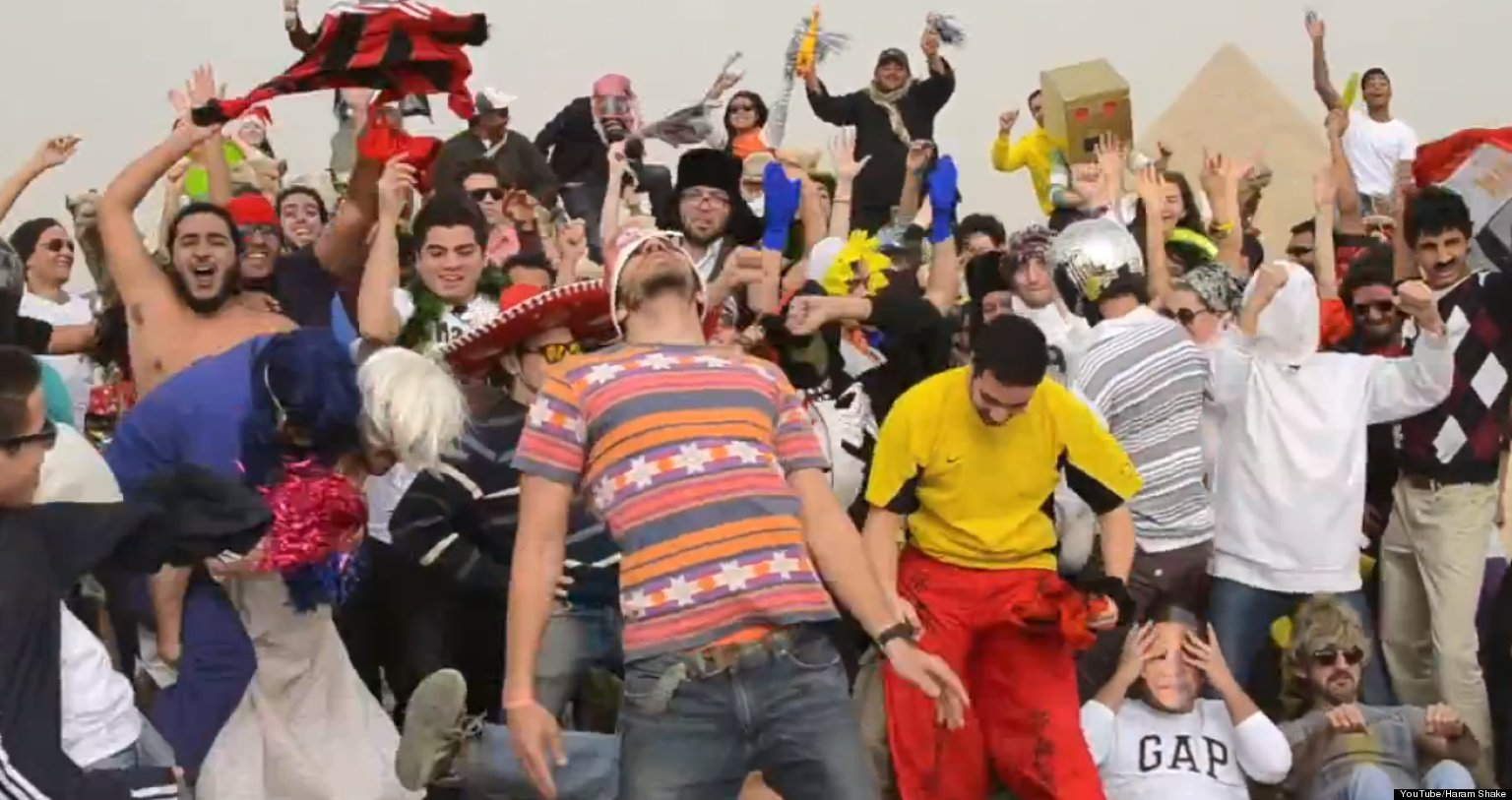 Four Students Arrested In Egypt For 'Harlem Shake'