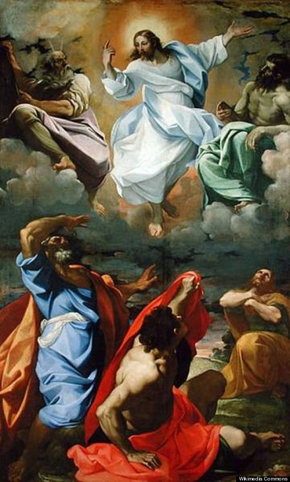 christ above elijah and moses essay Whilst christ stands serenely in the centre above them, flanked by moses and elijah christ's side moses transfiguration icon   the event.