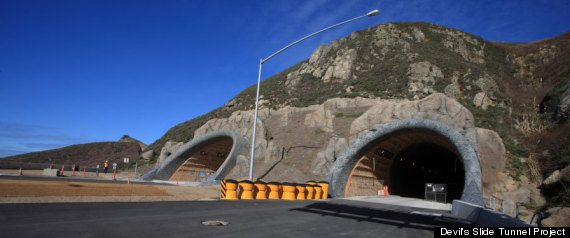 Devils Slide Tunnel