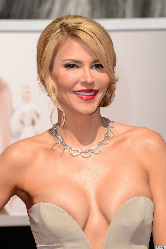 Source: Brandi Glanville Oscars Dress Showcases A Lot Of Cleavage