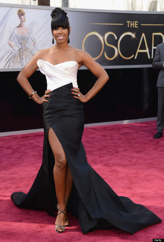 Kelly Rowland Oscar Dress 2013: Singer Wears Donna Karan With ...