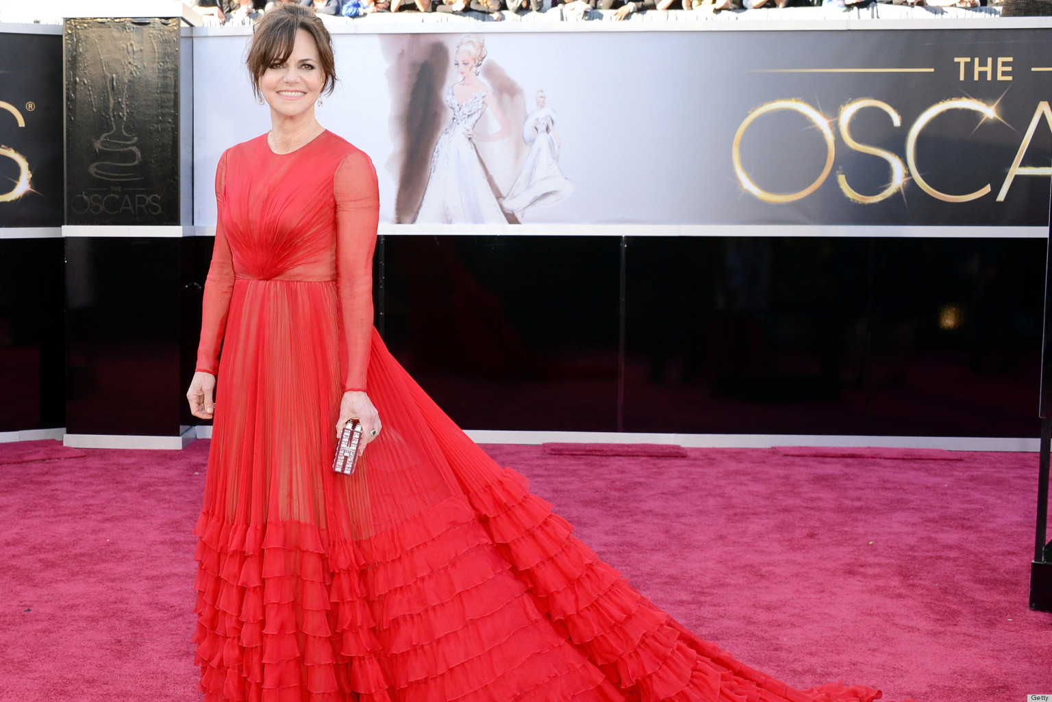 sally field oscar dress 2013 was nothing short of stunning