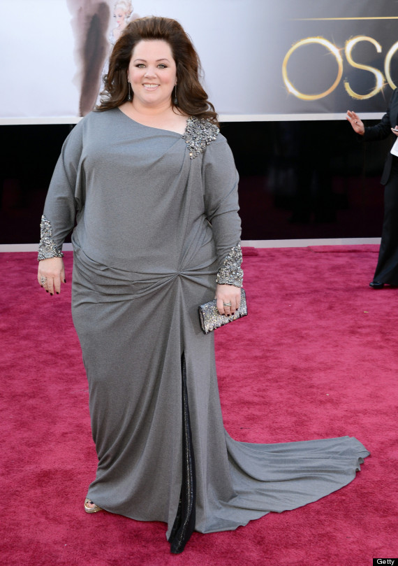 Melissa McCarthy Oscars 2013: 'Identity Thief' Star Arrives On Red